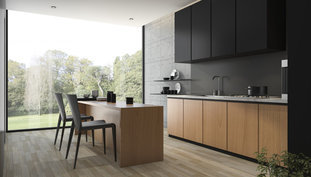 Kitchen Remodeling with Matte Black
